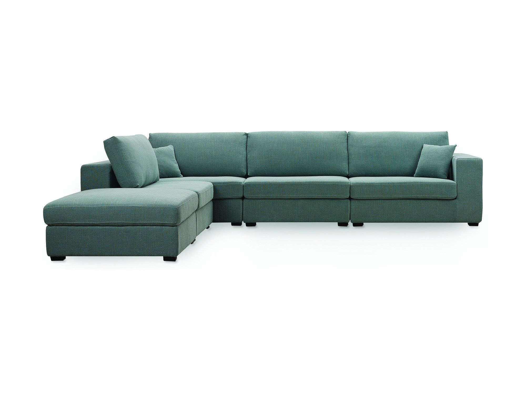 Sydney - Sectional (Ocean) L Newell Furniture | [Newell Furniture with Sydney Sectional Sofas (Image 5 of 10)
