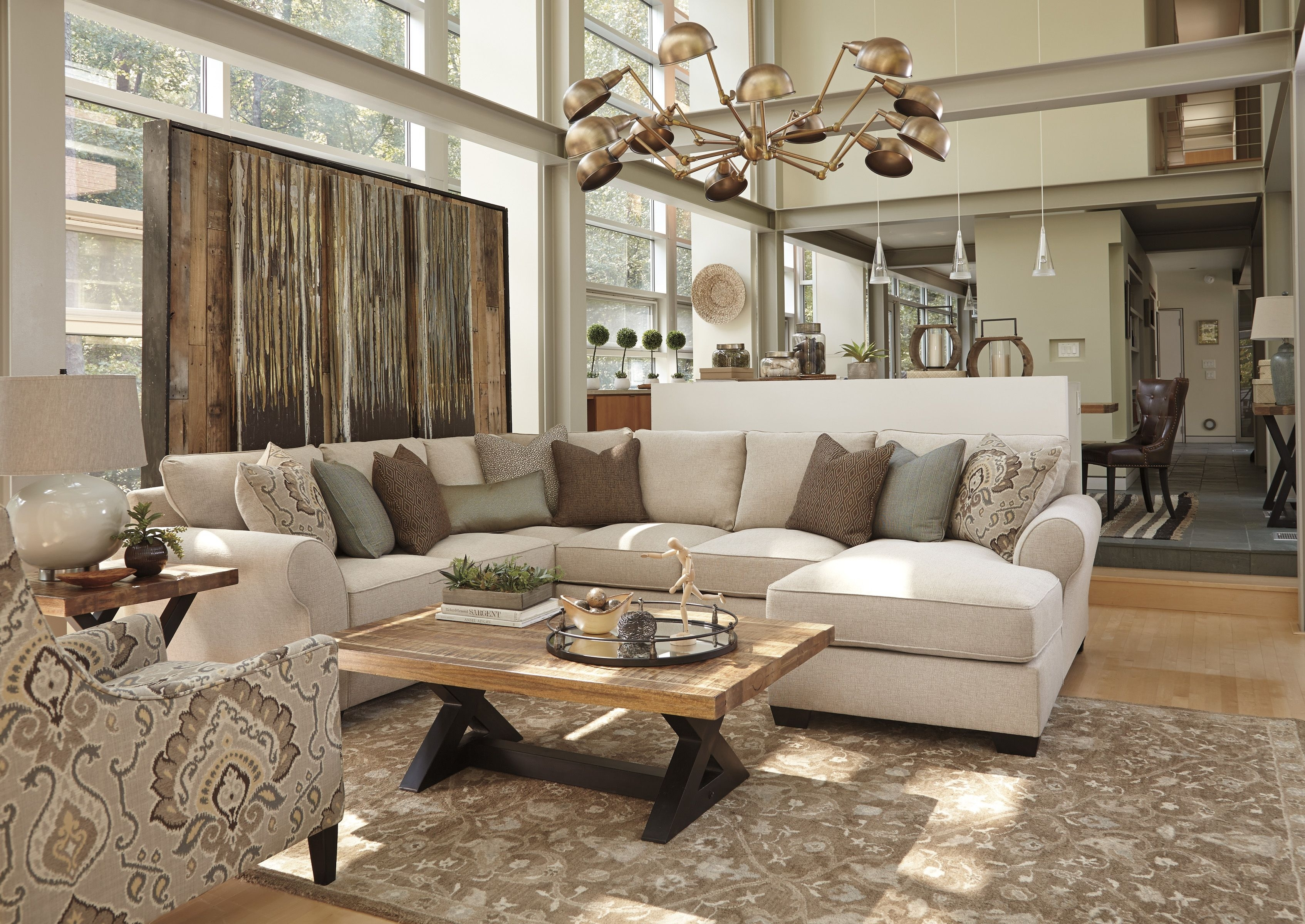The Ashley Homestore Wilcot Sectional Is Perfect For Those Who Want inside 10X8 Sectional Sofas (Image 9 of 10)