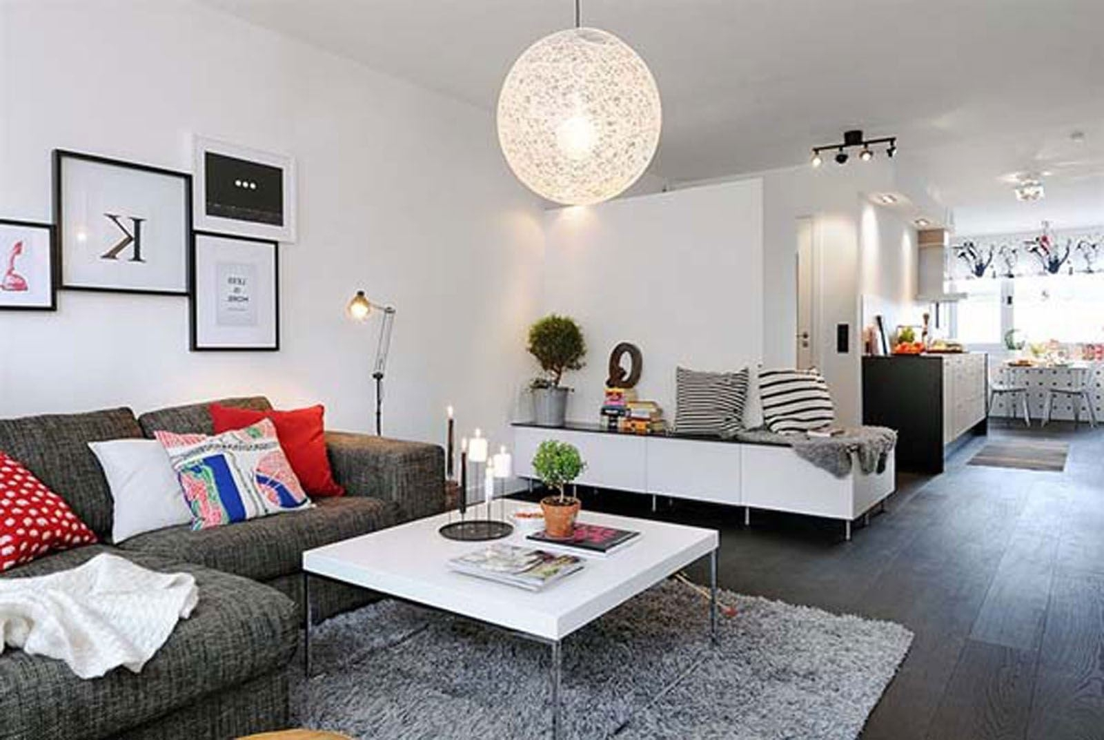 The Best Living Room Ideas For Small Apartment Red Faux Leather throughout Red Faux Leather Sectionals (Image 14 of 15)