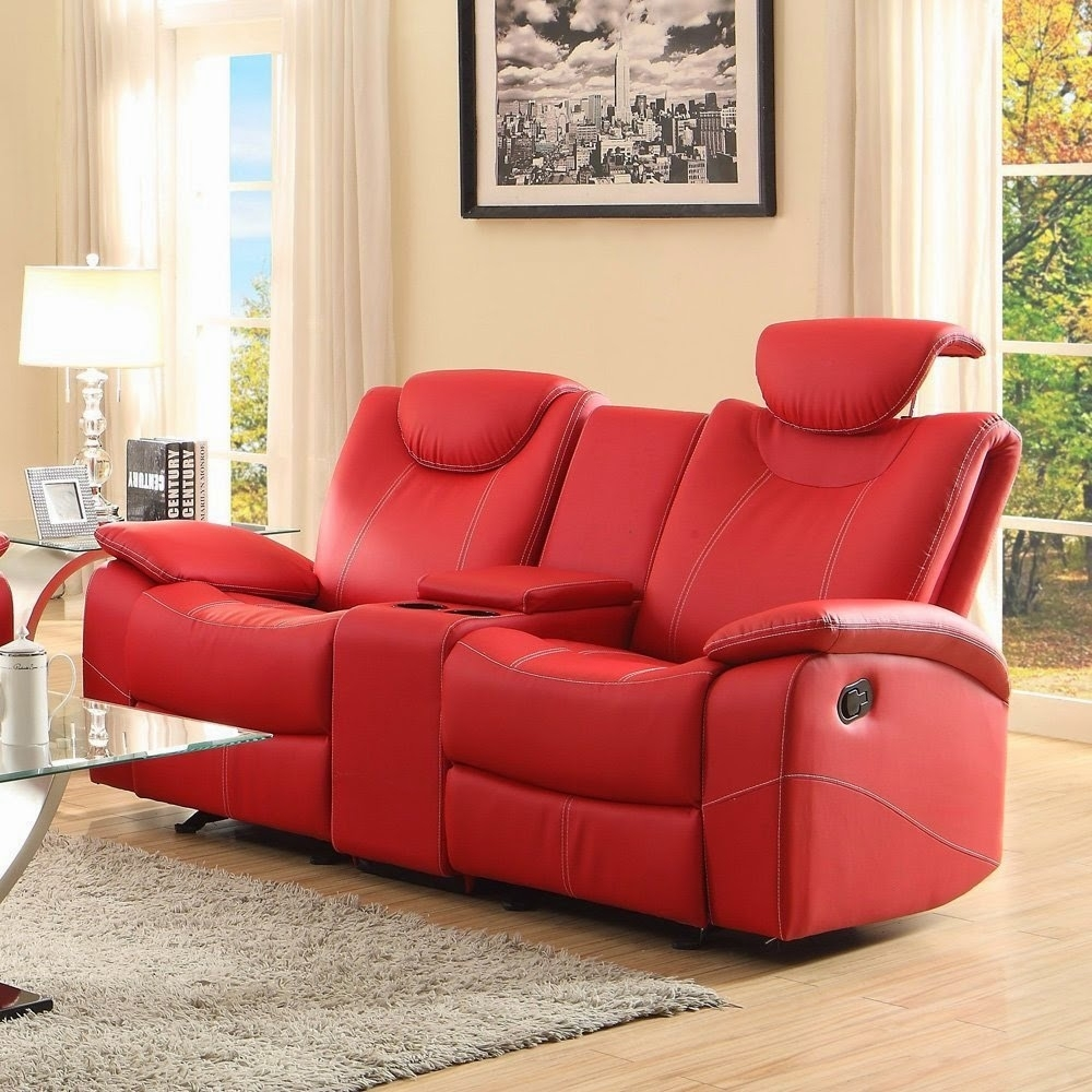 The Best Reclining Sofa Reviews: Red Leather Reclining Sofa And Loveseat for Red Leather Couches and Loveseats (Image 13 of 15)