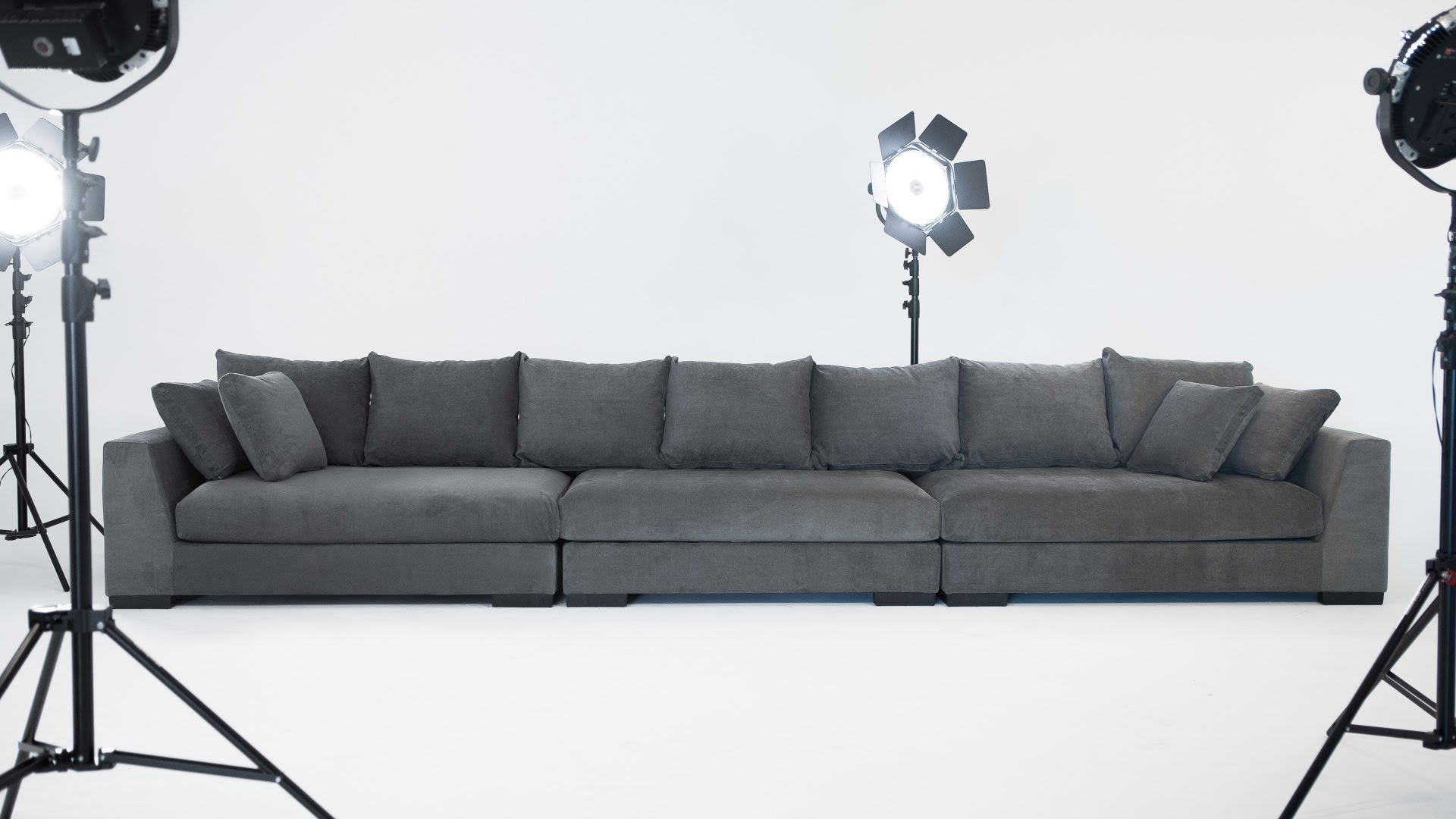 The Cooper Sectional Sofa - Structube - Youtube regarding Structube Sectional Sofas (Image 7 of 10)