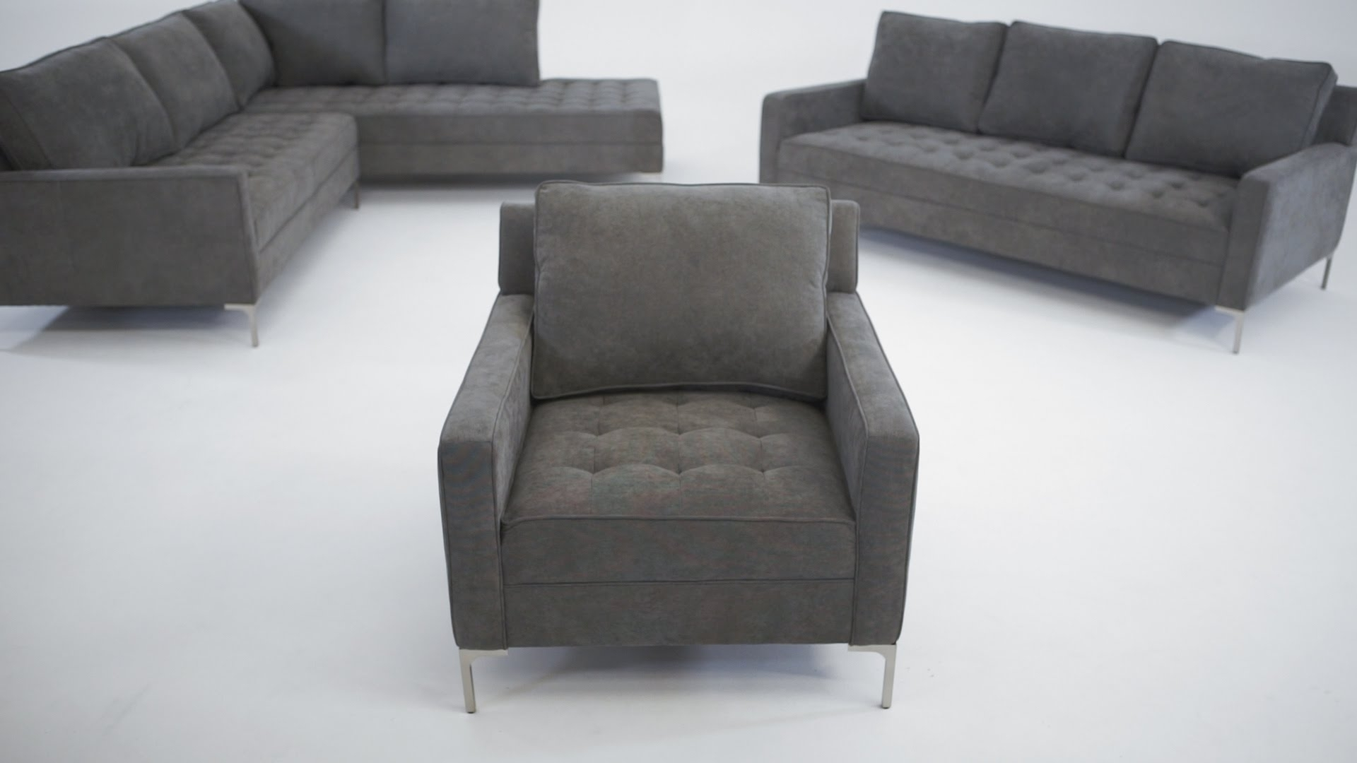 The Miami Collection - Structube - Youtube for Miami Sectional Sofas (Image 10 of 10)