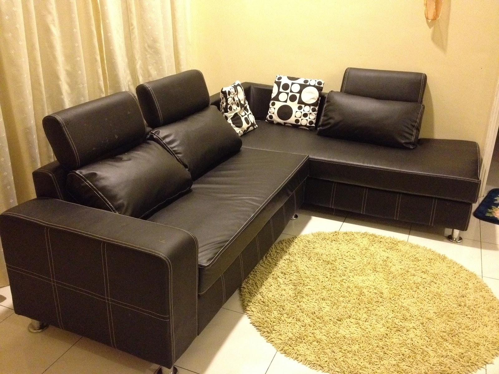 The Most Popular Leather Sofa For Sale Philippines Within Sofa With Sectional Sofas In Philippines (View 3 of 10)