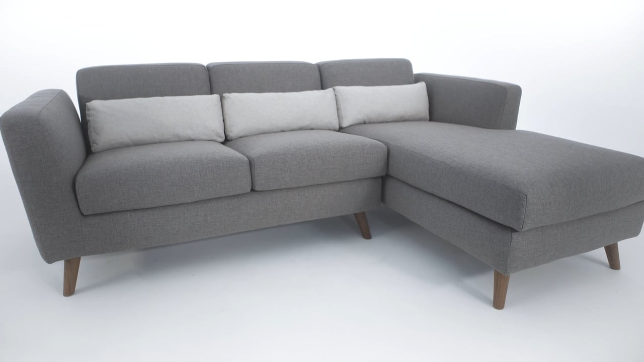 The Taylor Sectional Sofa - Structube On Vimeo with regard to Structube Sectional Sofas (Image 10 of 10)