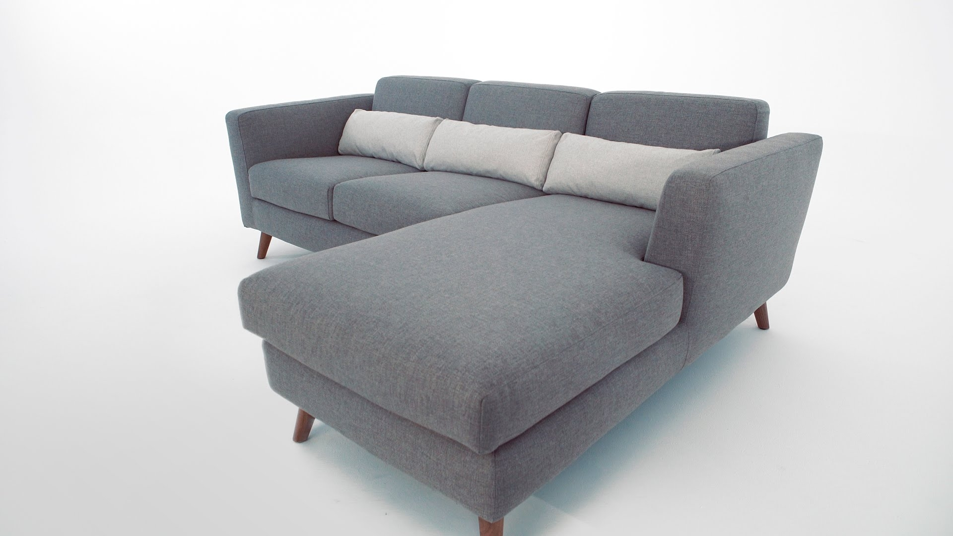 The Taylor Sectional Sofa - Structube - Youtube in Structube Sectional Sofas (Image 9 of 10)