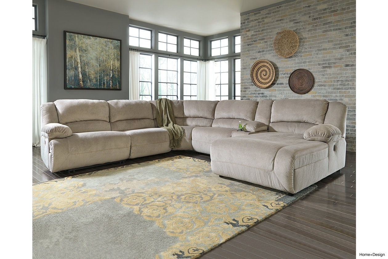 Toletta 6 Piece Sectional Home Design 67I Power Price With | Kaoaz with 10X8 Sectional Sofas (Image 10 of 10)