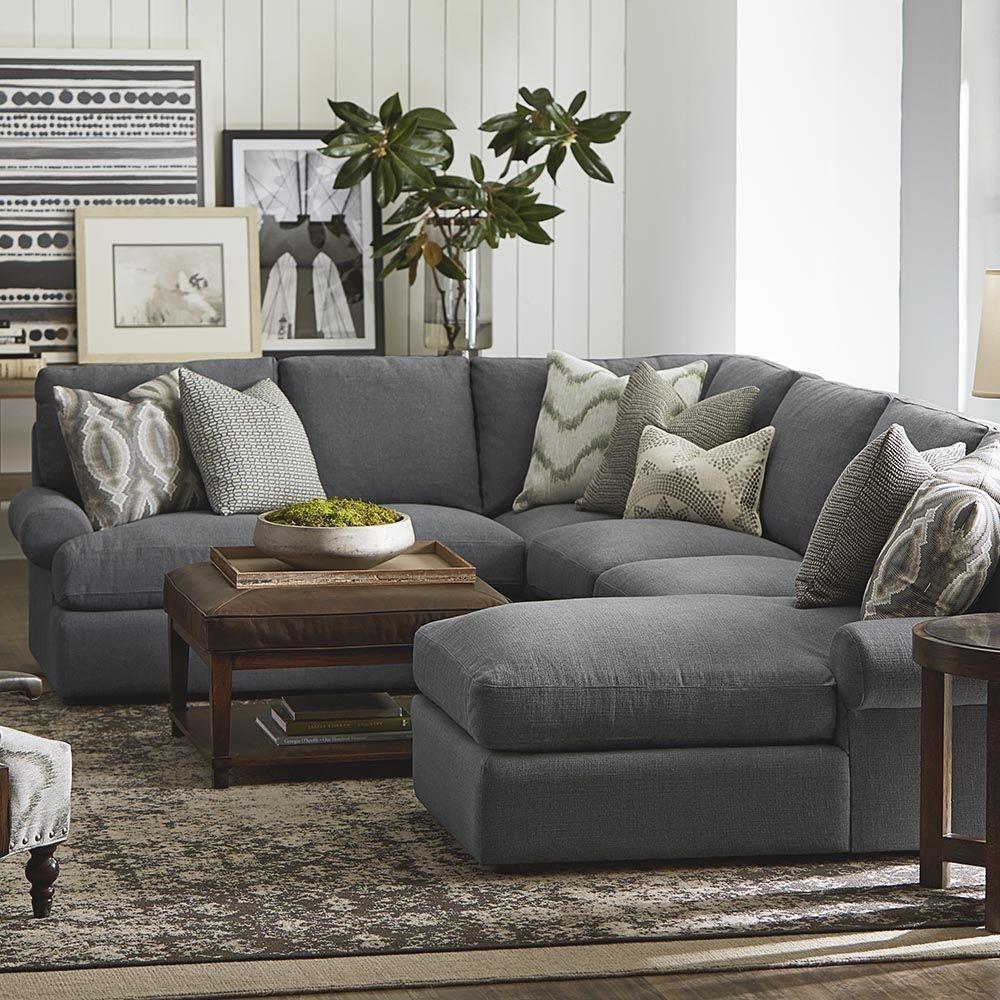 U-Shaped Sectional #familyroomdesignlayout | Decorating | Pinterest throughout U Shaped Sectional Sofas (Image 10 of 10)