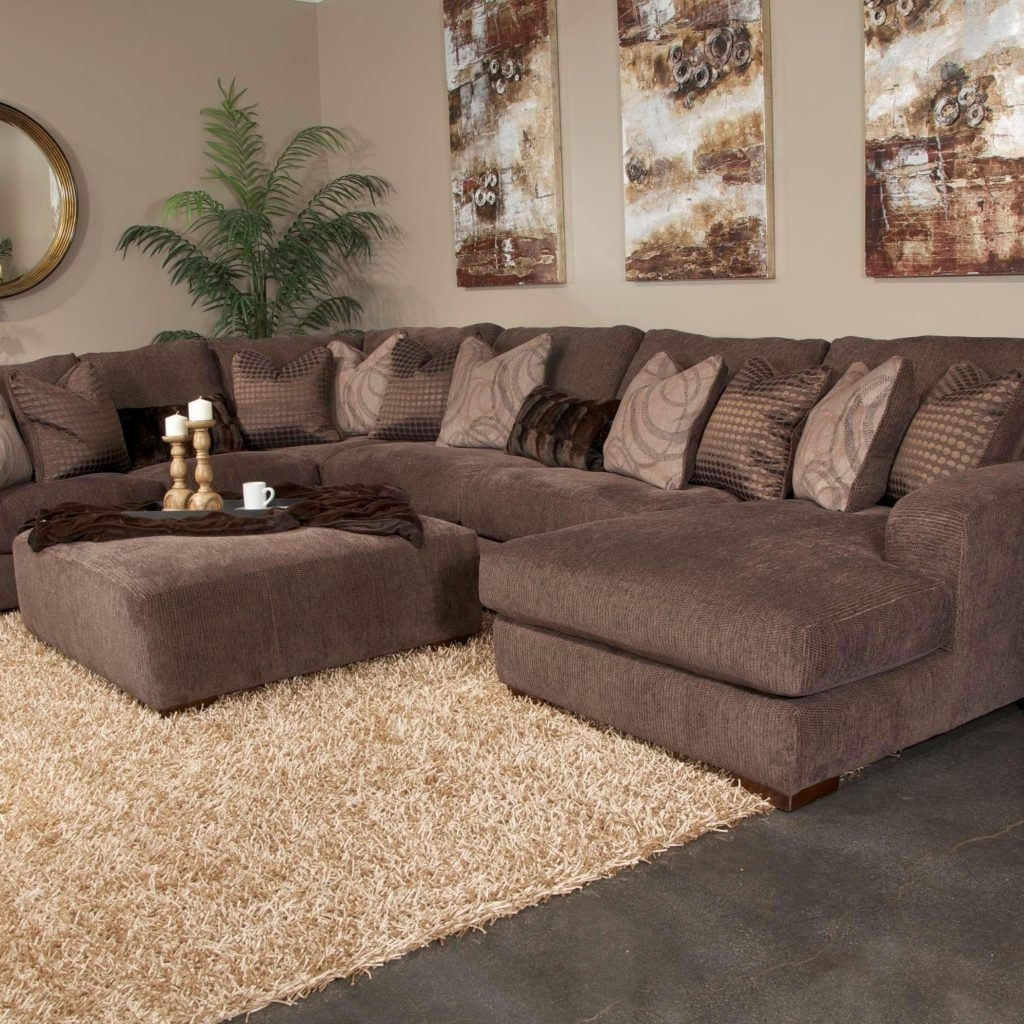 10 Photos Plush Sectional Sofas
