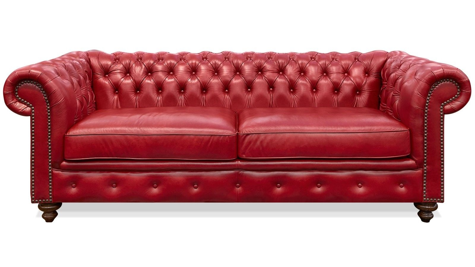 Unbelievable Red Leather Sofa With Jinanhongyu Picture For Trend And throughout Red Leather Couches (Image 15 of 15)