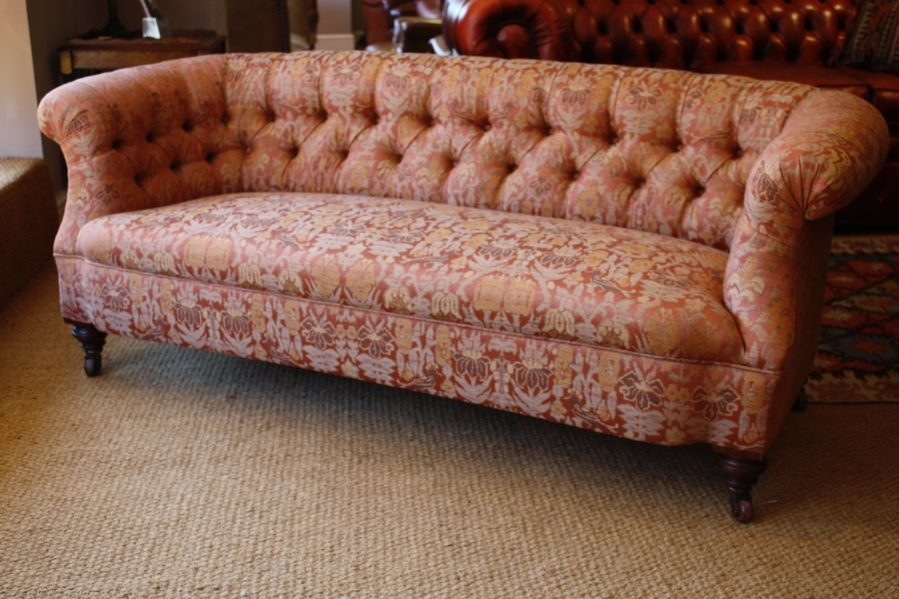 Victorian 'ibsen' Antique Sofa, Leather Chairs Of Bath, Antique throughout Antique Sofas (Image 9 of 10)