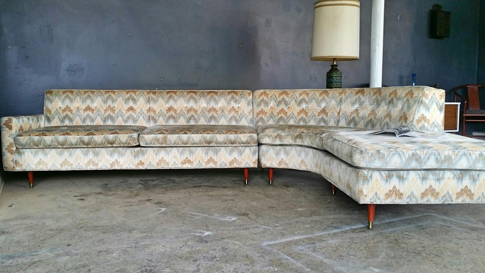 Vintage Ground: Mid Century Sectional Sofa Within Vintage Sectional Sofas (View 6 of 10)