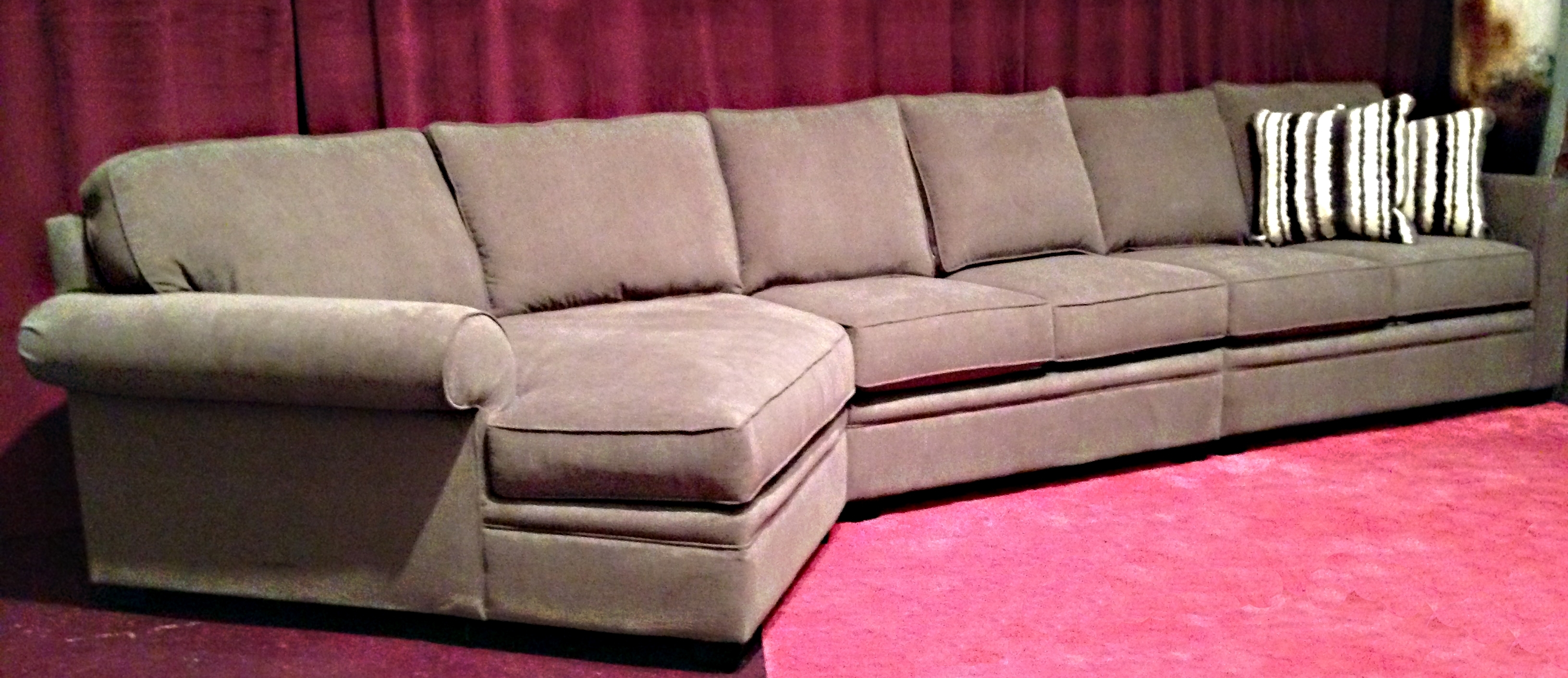 Wonderful Long Sectional Sofas 50 On Used Sectional Sofas Sale With throughout Used Sectional Sofas (Image 10 of 10)