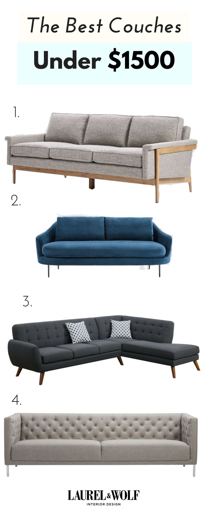 You Don't Need A $10K Couch To Netflix & Chill. From Sectionals To Pertaining To Sectional Sofas Under 1500 (Gallery 1 of 10)