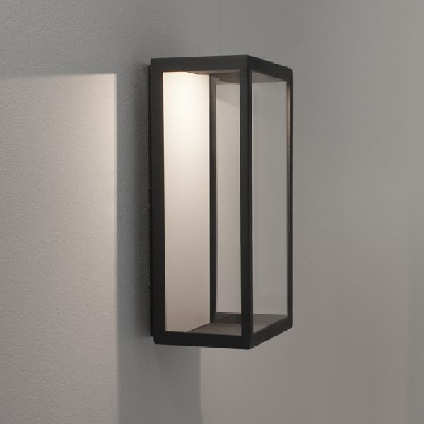 0931 Astro Puzzle Led Wall Light| Outdoor Lighting Ip44 Modern And in Outdoor Wall Light Glass (Image 1 of 10)