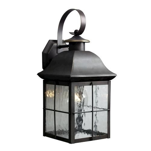 """1 Light 16.5"""" Outdoor Olde Bronze Wall Mount At Menards   For The For Patriot Lighting Outdoor Wall Lights (Photo 5 of 10)"""