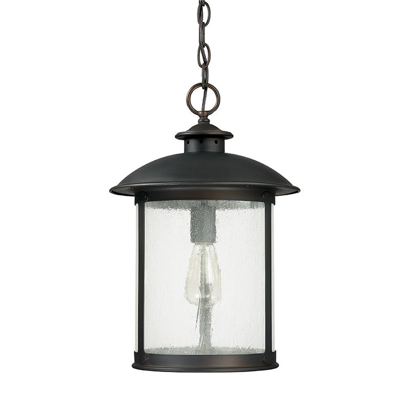 1 Light Outdoor Hanging Lantern Capital Lighting Fixture Company inside 12 Volt Outdoor Hanging Lights (Image 1 of 10)