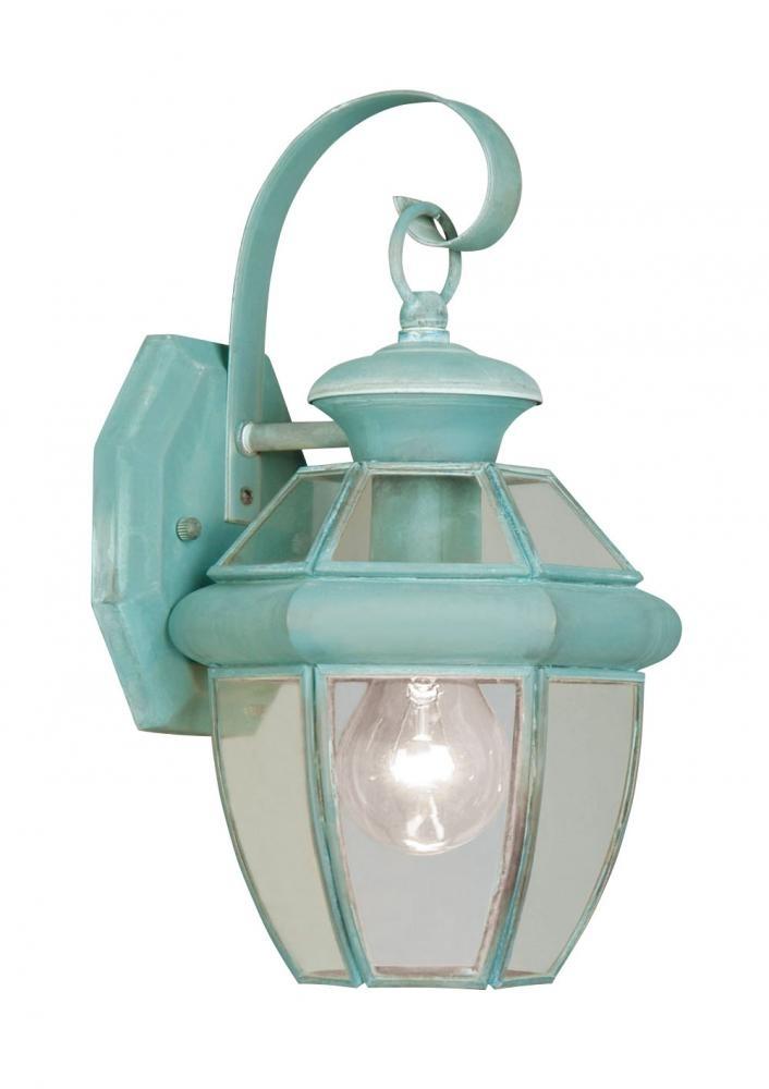 1 Light Verdigris Outdoor Wall Lantern : 1C760 | Lighting And Bulbs throughout Verdigris Outdoor Wall Lighting (Image 1 of 10)