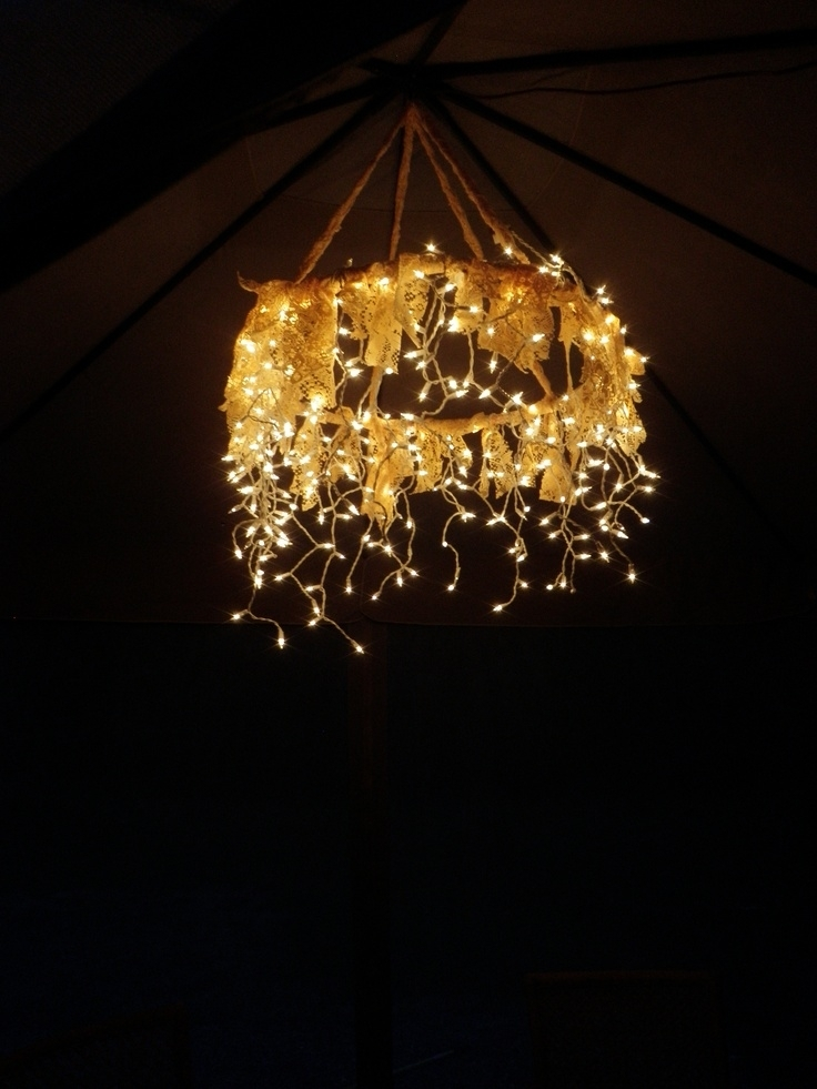 103 Best Gazebo Lights Images On Pinterest | Decks, Gazebo And Throughout Outdoor Hanging Gazebo Lights (Gallery 10 of 10)