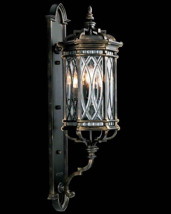 105 Best Outdoor Lighting Images On Pinterest | Exterior Lighting for High End Outdoor Wall Lighting (Image 1 of 10)