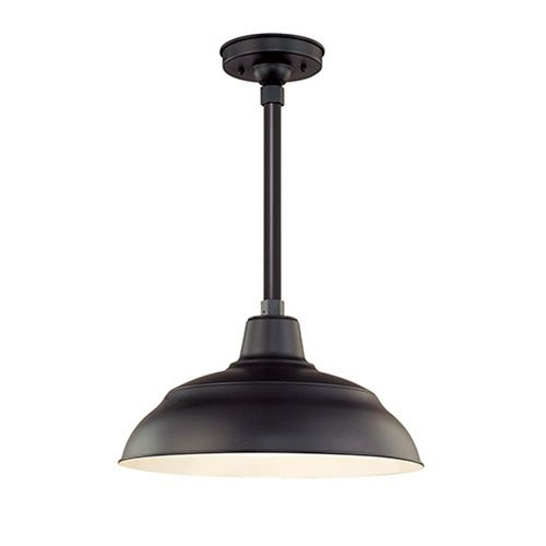 $108 (Does Not Have Dusk To Dawn Or Motion Sensor) R Series Satin inside Commercial Outdoor Hanging Lights (Image 1 of 10)