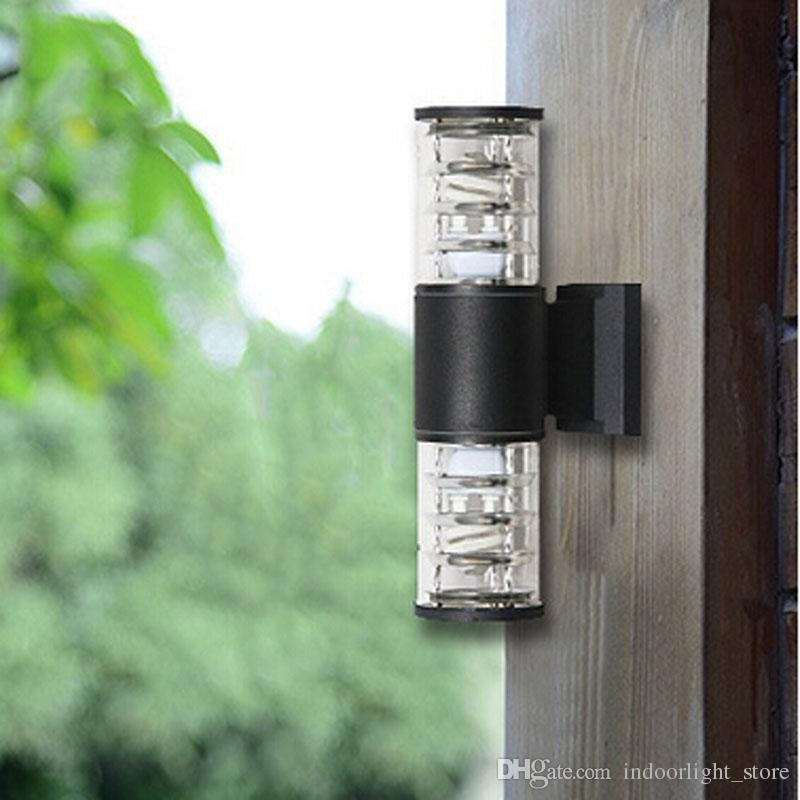 10W Up Down Outdoor Led Wall Light Cylinder Porch Lamp Luminaria pertaining to Outdoor Led Wall Lighting (Image 1 of 10)