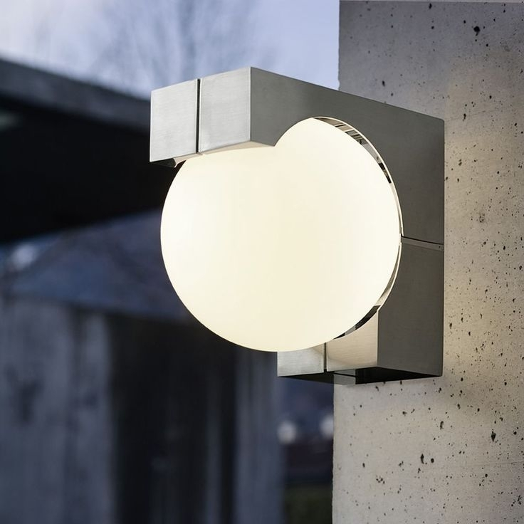 125 Best Exterior Wall Mounted Lights Images On Pinterest | Exterior For Outdoor Wall Mounted Globe Lights (Gallery 1 of 10)