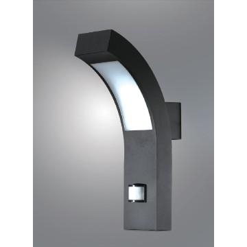 12535, China Ip54 Led Outdoor Garden Pir Sensor Wall Lights Gs inside Black Outdoor Led Wall Lights (Image 1 of 10)