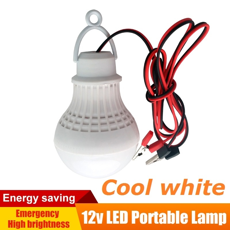 12V Dc Led Lamps Portable Tent Camping Light Smd5730 Bulbs Outdoor intended for 12 Volt Outdoor Hanging Lights (Image 2 of 10)