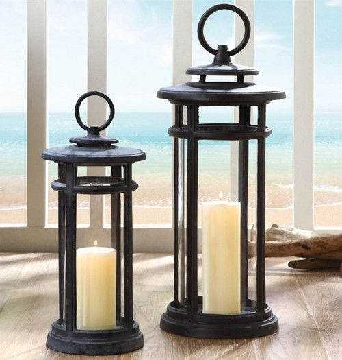143 Best Candle Lanterns Images On Pinterest | Candle Lanterns intended for Outdoor Hanging Decorative Lanterns (Image 1 of 10)