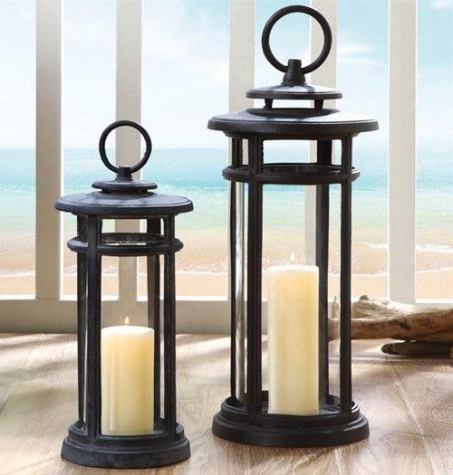 143 Best Candle Lanterns Images On Pinterest | Candle Lanterns within Outdoor Hanging Candle Lanterns (Image 1 of 10)