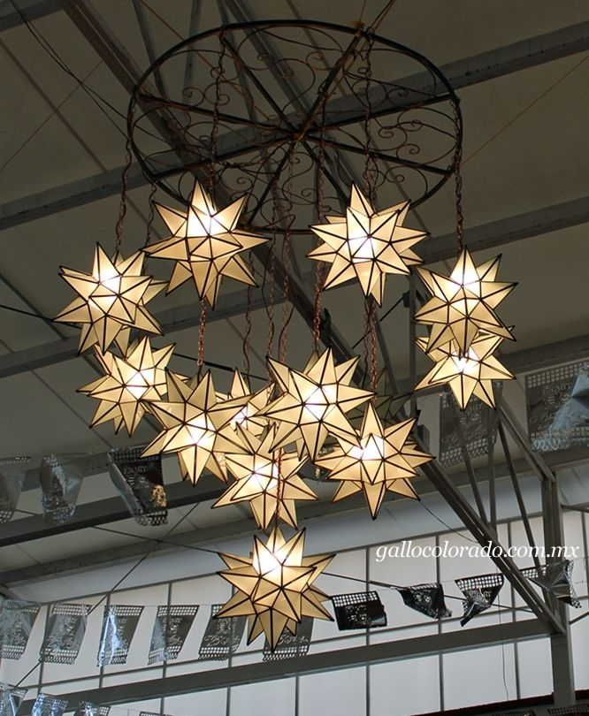 17 Best Mexican Hanging Star Lights Images On Pinterest Pertaining Inside Mexican Outdoor Hanging Lights (Photo 9 of 10)