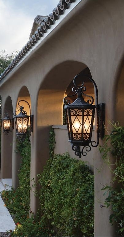 19 Best Lantern Images On Pinterest | Wrought Iron, Architecture And within Tuscan Outdoor Wall Lighting (Image 1 of 10)