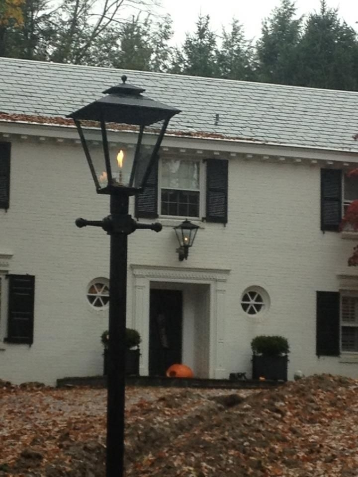 19 Best Open Flame Gas Lamps Images On Pinterest | American Gas regarding Outdoor Wall Mount Gas Lights (Image 1 of 10)