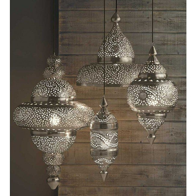 19 Gorgeous Outdoor Lighting Options | Moroccan, Porch And Outdoor with Unique Outdoor Hanging Lights (Image 1 of 10)