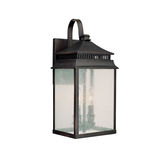 2 Light Outdoor Wall Lantern | Capital Lighting Fixture Company within Outdoor Wall Lantern Lights (Image 1 of 10)