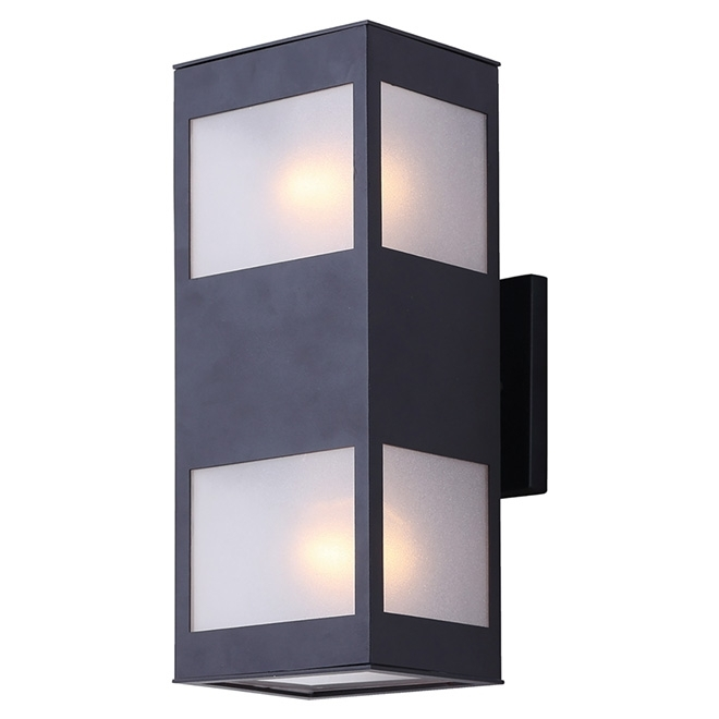 "2 Light Outdoor Wall Light   ""amando"" | Rona In Rona Outdoor Wall Lighting (Photo 3 of 10)"