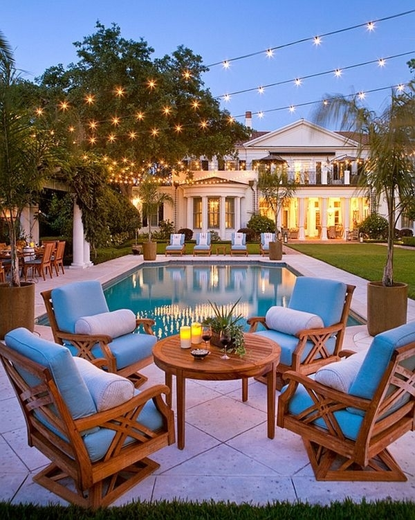 20 Best Pool Party Lights Images On Pinterest | Pool Parties throughout Outdoor Hanging Pool Lights (Image 2 of 10)