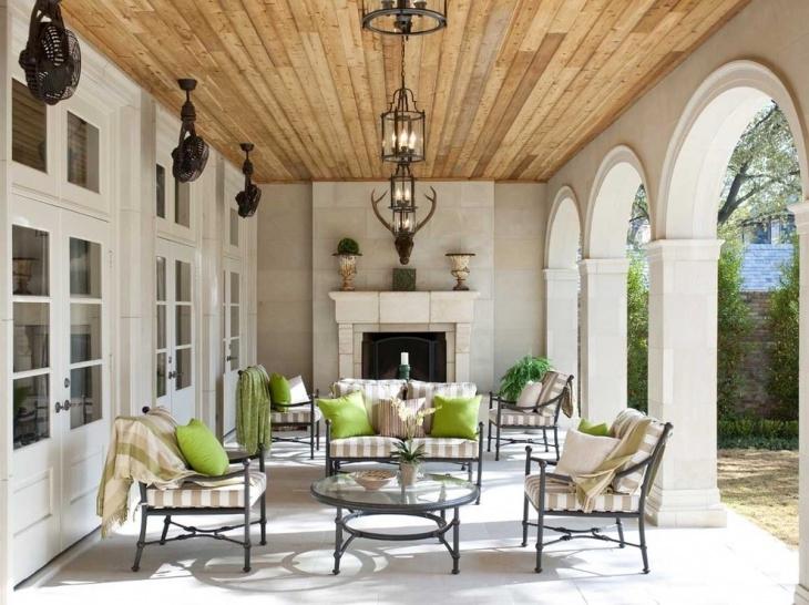 20+ Outdoor Ceiling Lights Designs, Ideas | Design Trends   Premium In Outdoor Hanging Ceiling Lights (Photo 5 of 10)