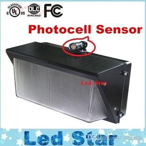 2018 Photocell Sensor Led Wall Pack Light 60W 80W 100W 120W With Led Outdoor Wall Lights With Photocell (Photo 8 of 10)