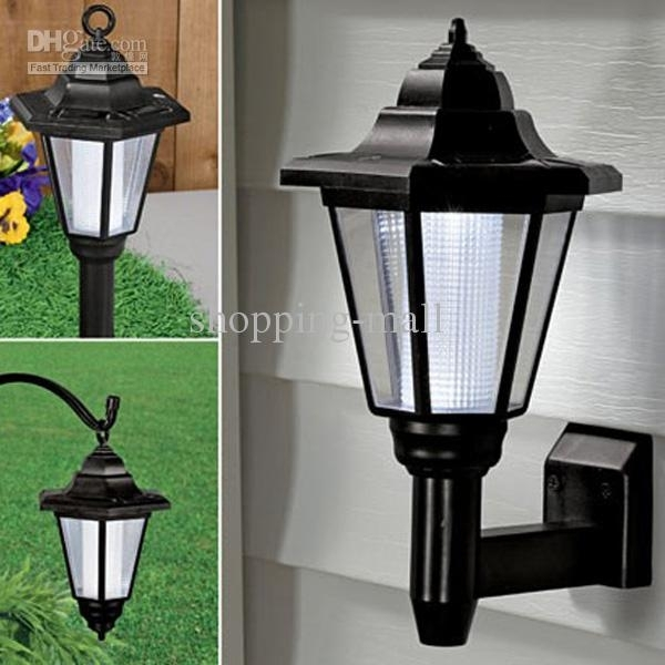 2018 Solar Led Wall Light Garden Wall Solar Lights Palace Style From Regarding Solar Led Outdoor Wall Lighting (Gallery 1 of 10)