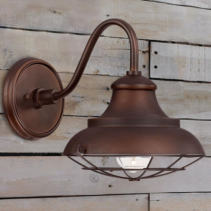 22 Best Outdoor Lights: Add Curb Appeal Images On Pinterest With Regard To Barn Outdoor Wall Lighting (Photo 10 of 10)