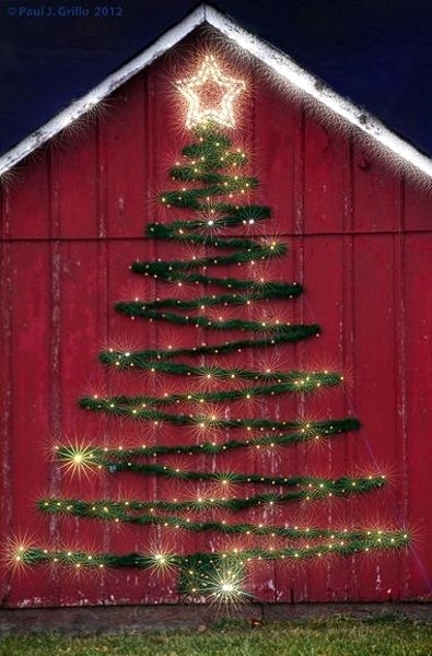 23 Christmas Outdoor Decoration Ideas Are Worth Trying | Outdoor For Outdoor Wall Xmas Lights (Photo 8 of 10)