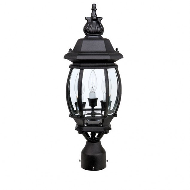 3 Lamp Post Lantern | Capital Lighting Fixture Company Intended For Outdoor Hanging Post Lights (Photo 7 of 10)