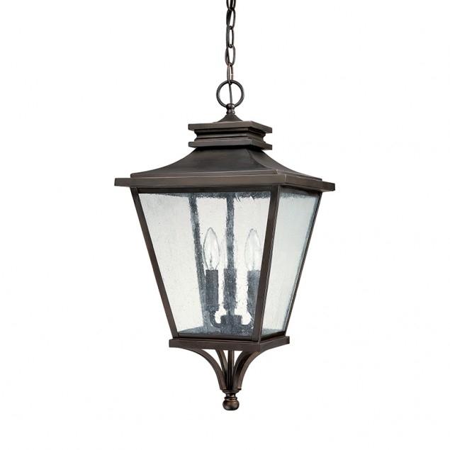 3 Light Outdoor Hanging Lantern Capital Lighting Fixture Company In within Outdoor Hanging Lantern Lights (Image 3 of 10)