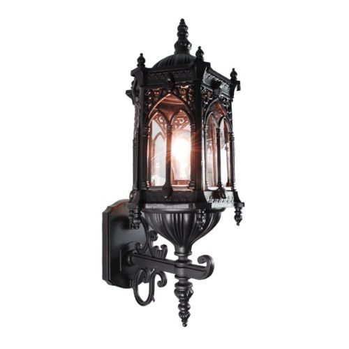 34 Best Little Gothic Cottage Lighting Images On Pinterest | Cottage Intended For Gothic Outdoor Wall Lighting (Photo 1 of 10)