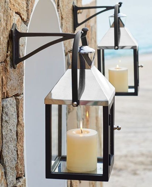 369 Best Candelas Images On Pinterest | Lanterns, Candle Lanterns In Outdoor Hanging Lanterns With Candles (Photo 5 of 10)