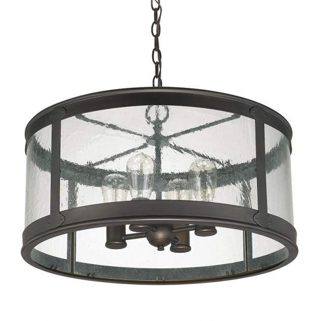 4 Light Outdoor Pendant | Capital Lighting Fixture Company with Outdoor Hanging Light in Black (Image 5 of 10)