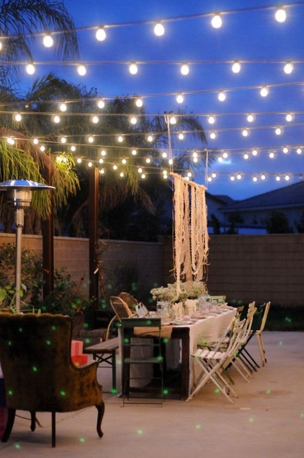 40 Best Of Hanging String Lights Outdoors - Light And Lighting 2018 with regard to Outdoor Hanging Decorative Lights (Image 2 of 10)