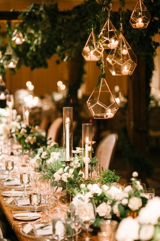 40 Hanging Lanterns D Cor Ideas For Indoor Or Outdoor Weddings In in Outdoor Hanging Lanterns For Wedding (Image 5 of 10)