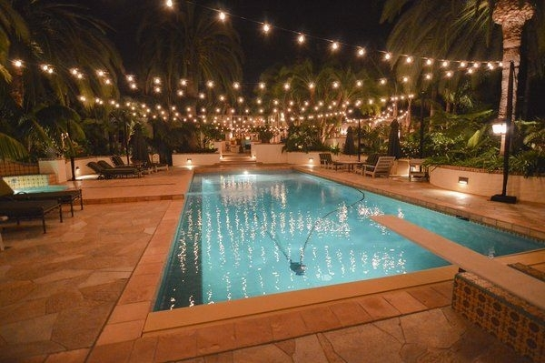 5 Reasons String Lights Over Your Swimming Pool Are A Bad Idea throughout Outdoor Hanging Pool Lights (Image 3 of 10)